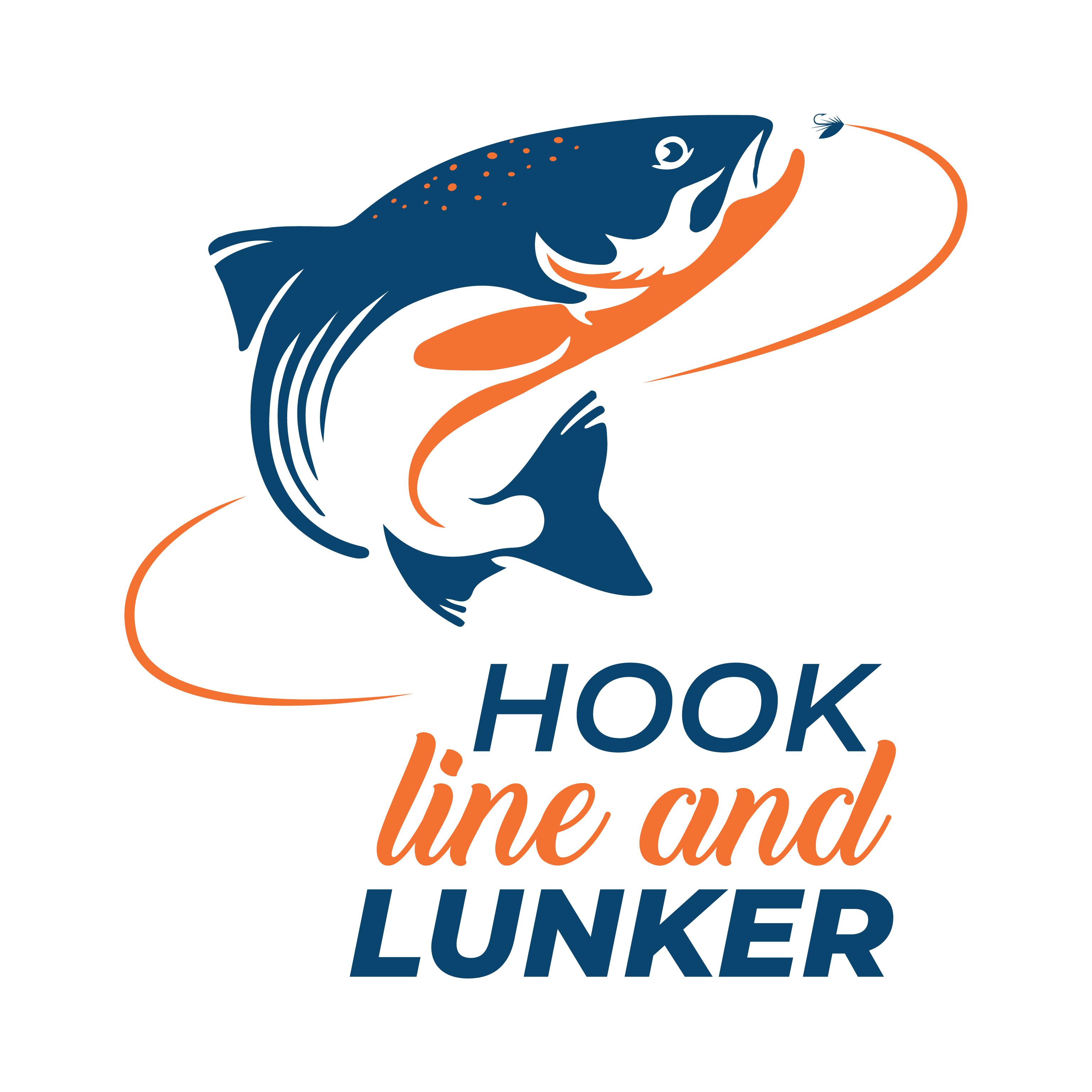 Logo Hook line and lunker